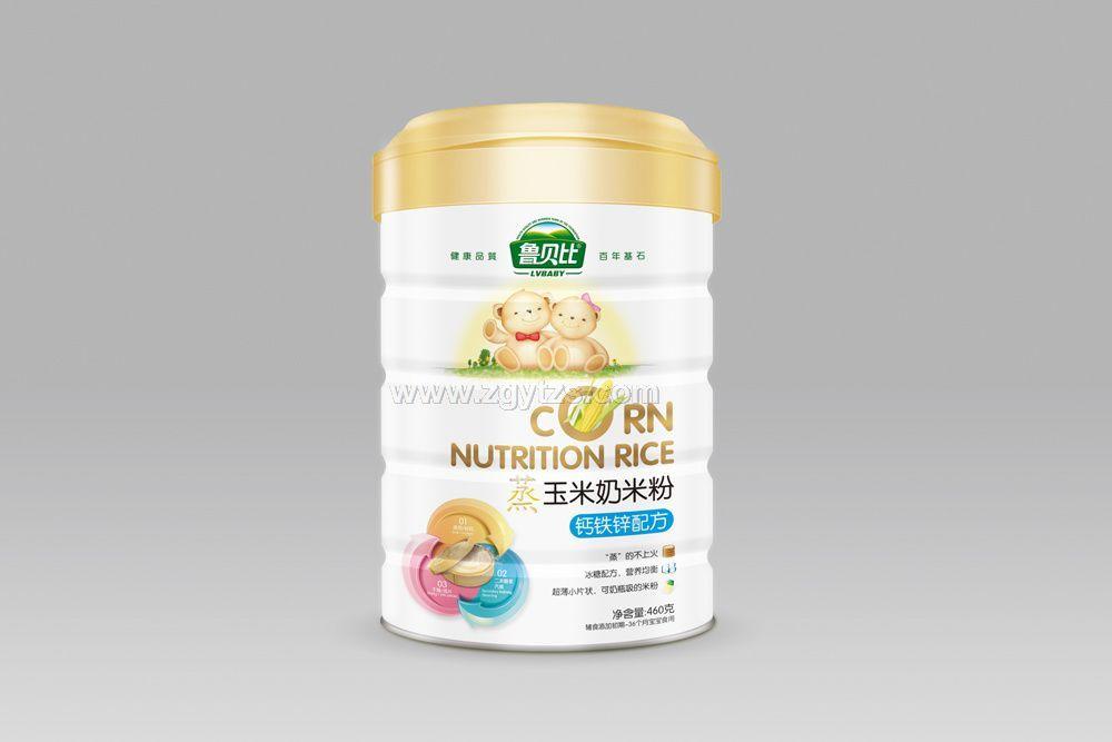 蒸玉米奶米粉-钙铁锌配方听装