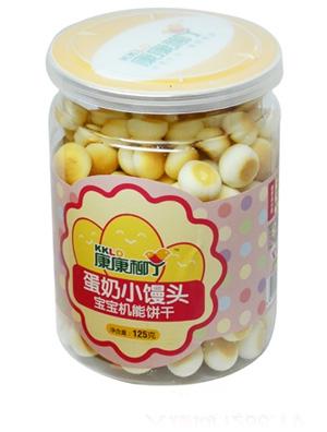 康康柳丁蛋奶小馒头宝宝机能饼干