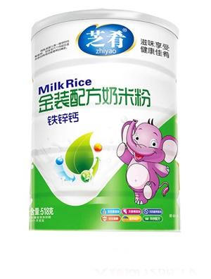 芝肴羊奶营养米粉(淮山薏米配方)