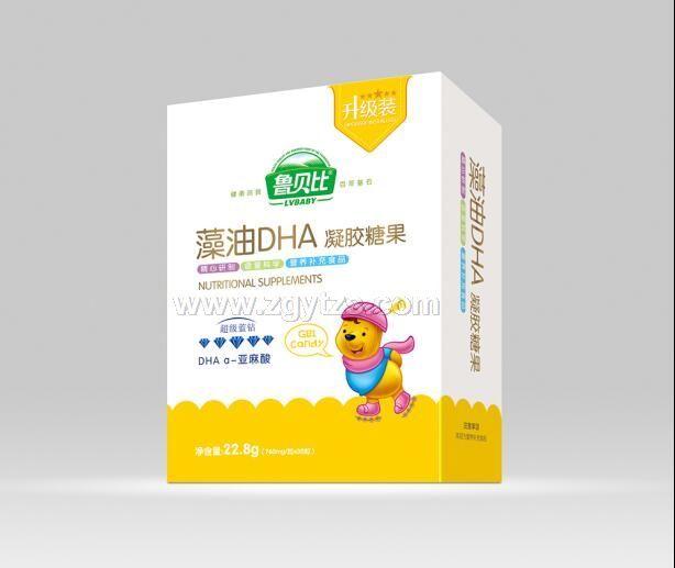 藻油DHA凝胶糖果