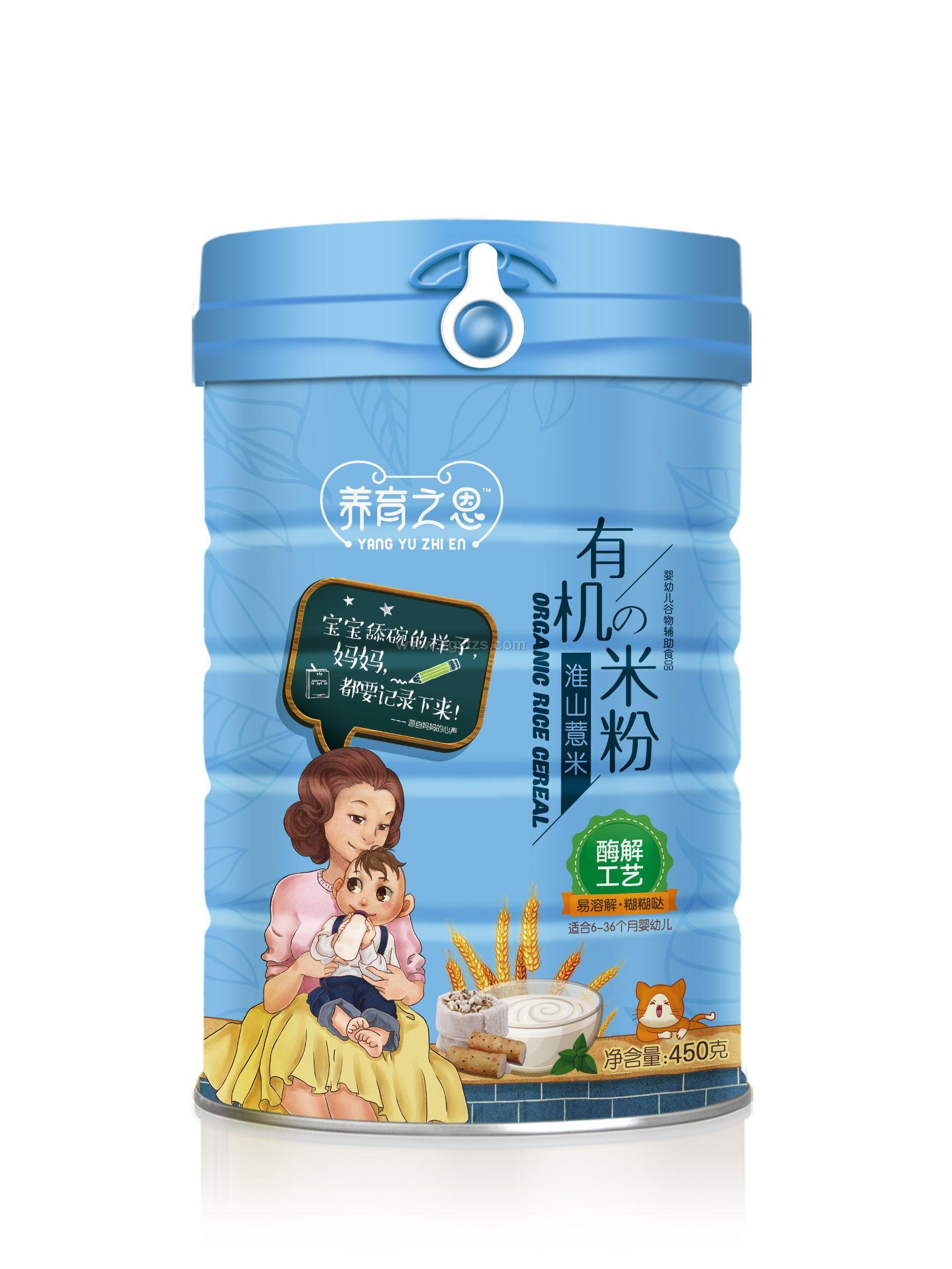 淮山薏米有机米粉