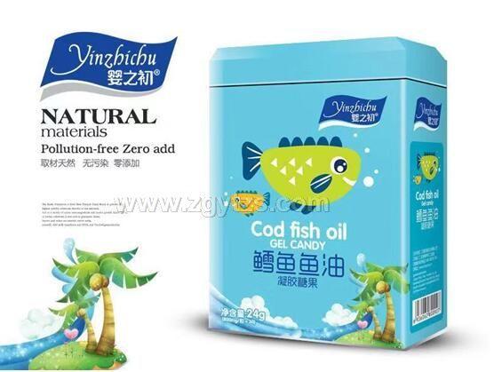鳕鱼鱼油 凝胶糖果