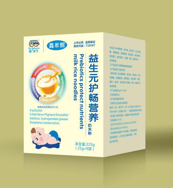 鑫米熙益生元护畅营养奶米粉