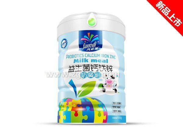 益生菌钙铁锌奶餐粉