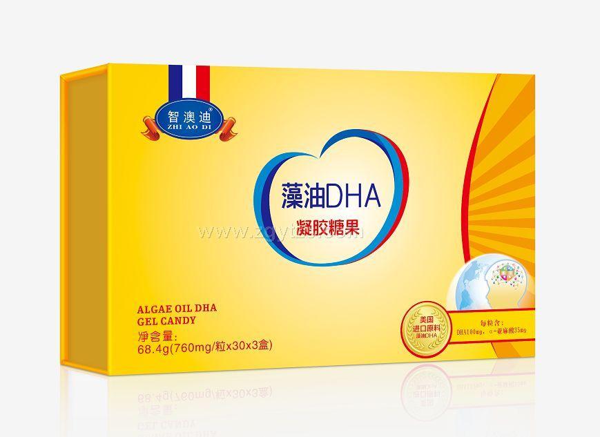 智澳迪-藻油DHA凝胶糖果