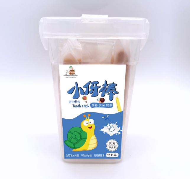 蜗蜗散步小伢棒钙奶味