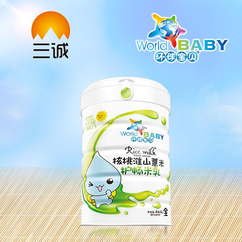 环球宝贝核桃淮山薏米桶装