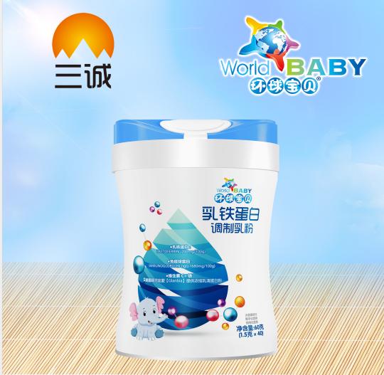 环球宝贝环球乳铁蛋白调制粉