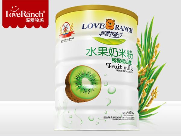 猕猴桃山楂―水果奶米粉