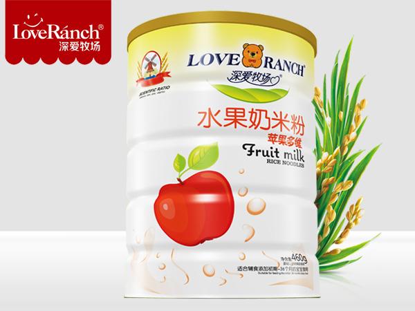 苹果多维―水果奶米粉