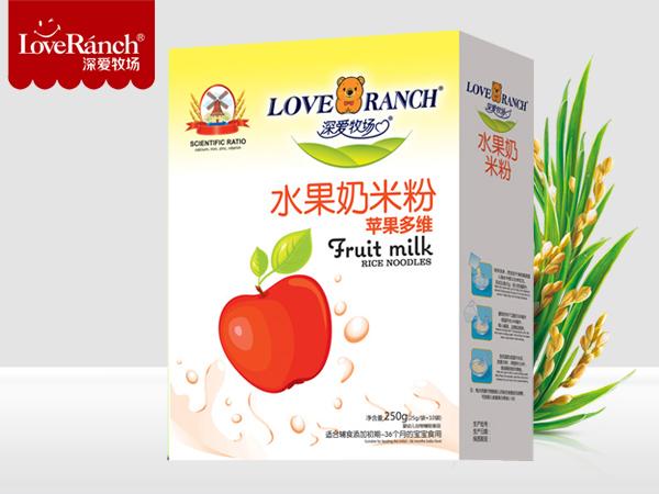 苹果多维―水果奶米粉盒装