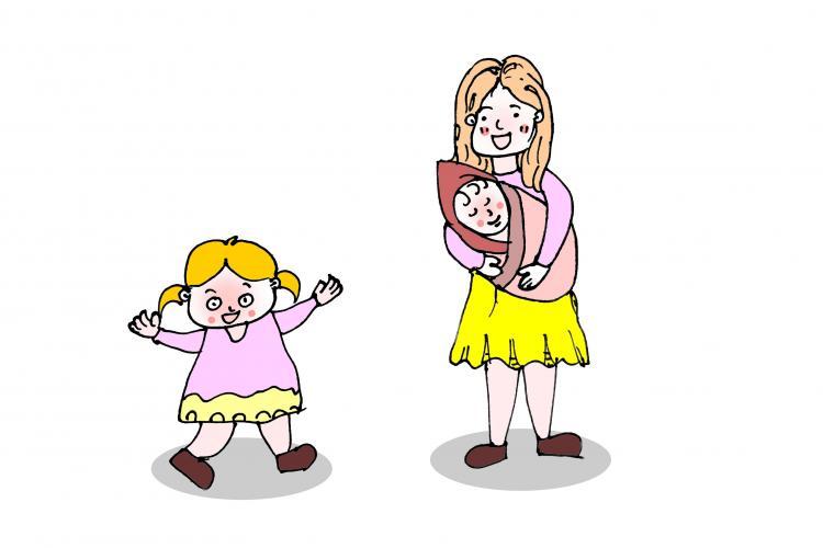 家有二宝,父母如何协调孩子们的关系?
