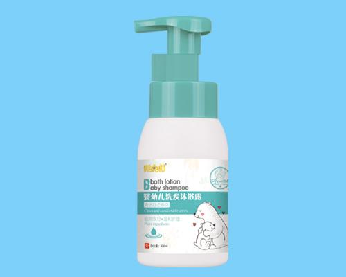胖唬唬婴幼儿洗发沐浴露
