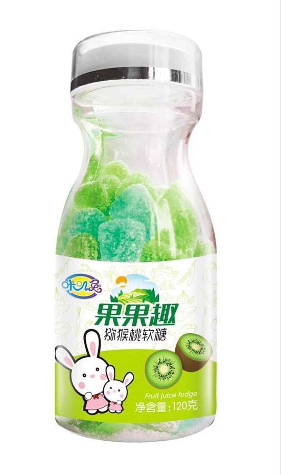 咔叽兔果果趣猕猴桃软糖
