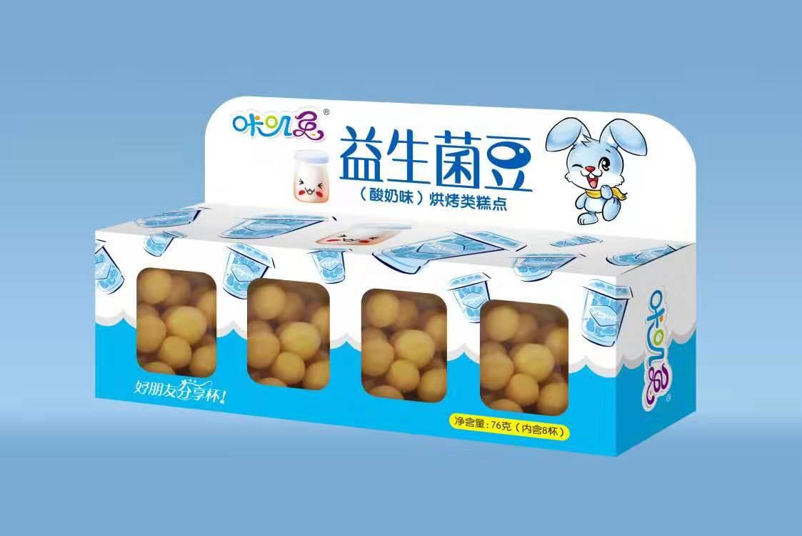 咔叽兔益生菌豆酸奶味