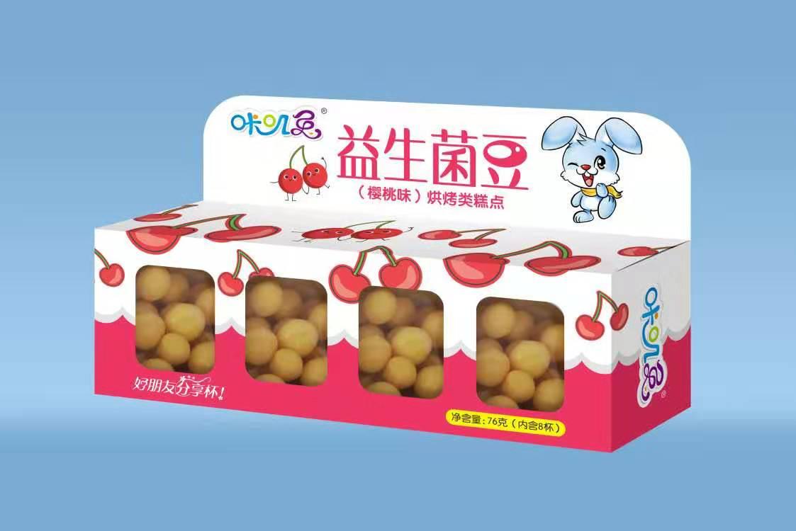 咔叽兔益生菌豆樱桃味