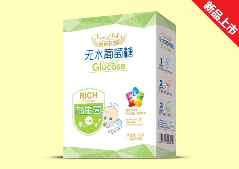 金诺贝婴无水葡萄糖盒装-益生菌