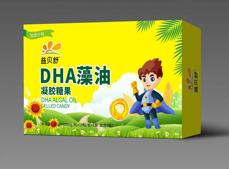 益贝舒DHA藻油凝胶糖果