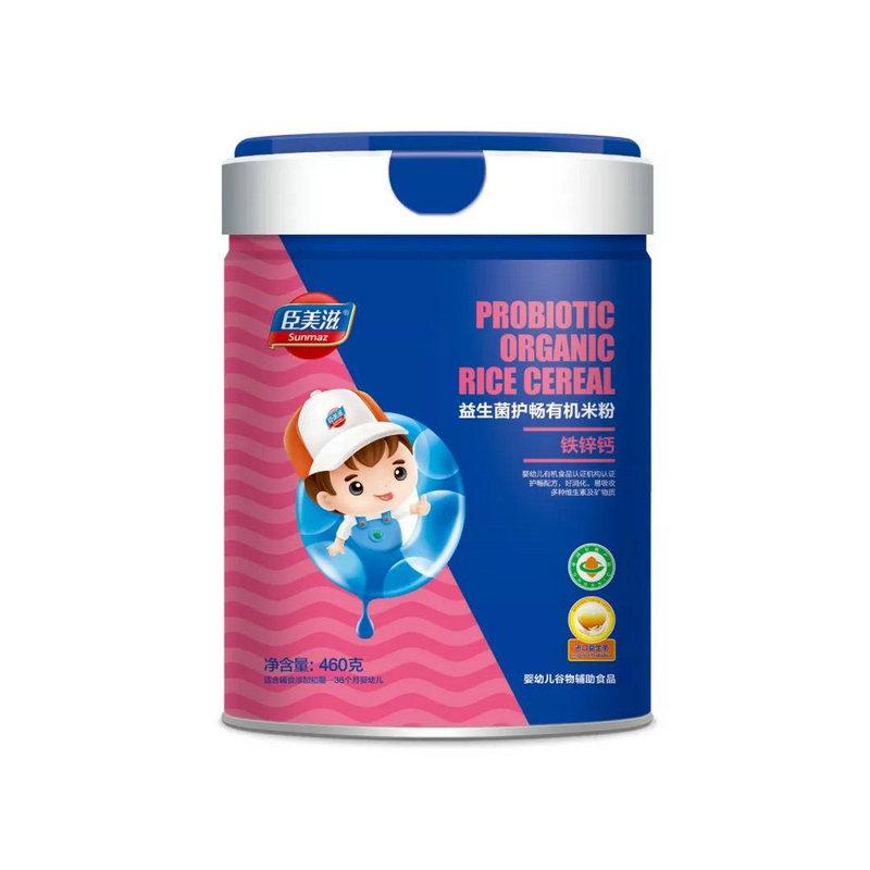 臣美滋益生菌护畅有机米粉铁锌钙