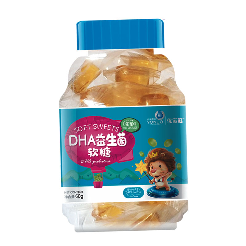 优诺冠DHA益生菌软糖