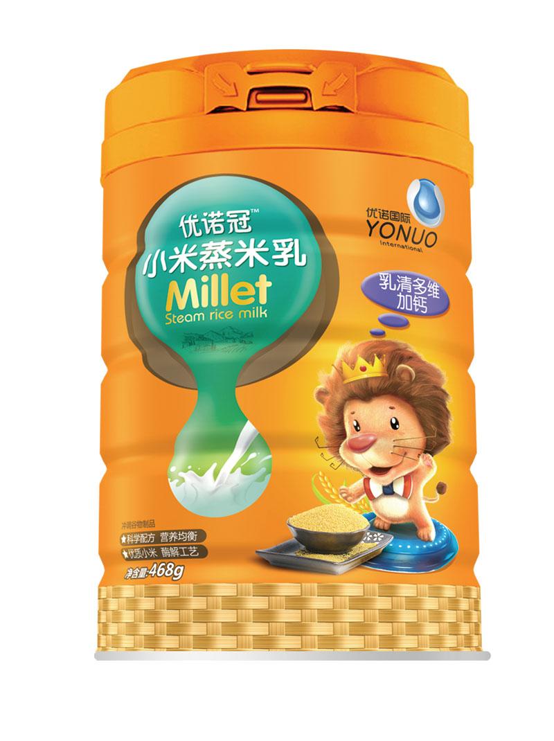 优诺冠乳清多维加钙小米蒸米乳
