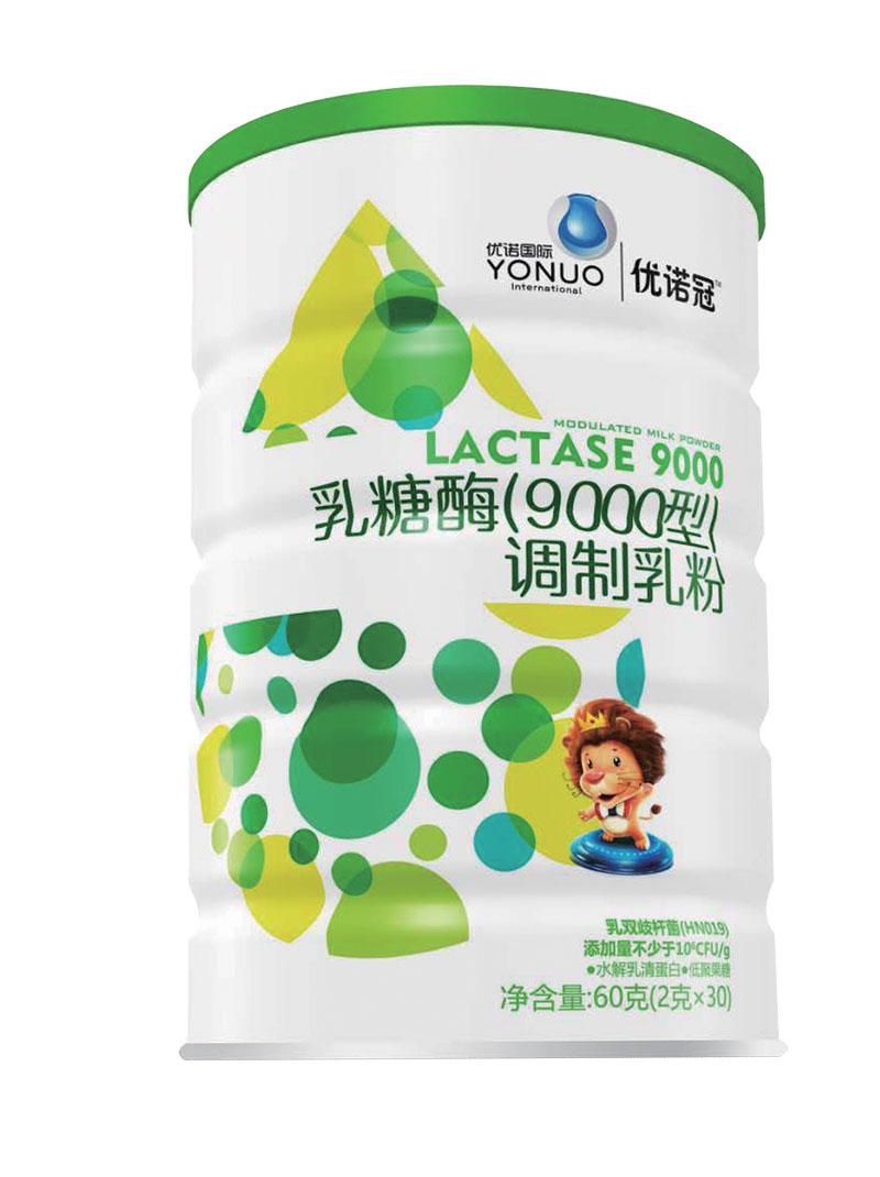 优诺冠乳糖酶调制乳粉