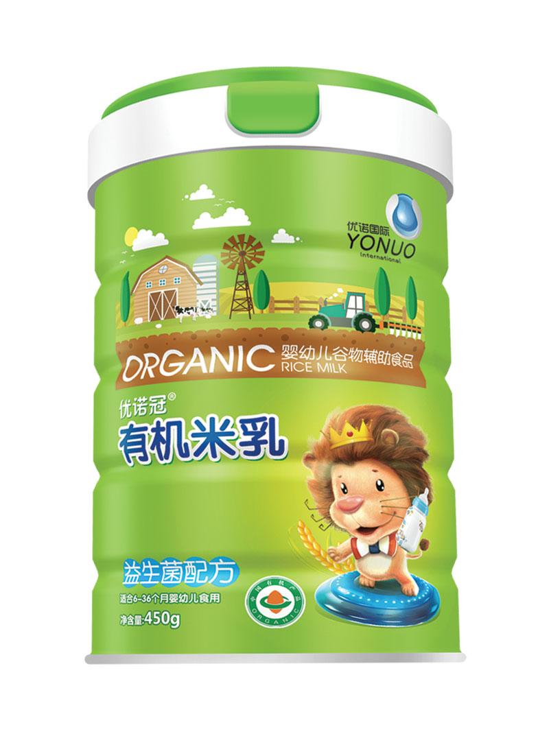 优诺冠益生菌配方有机米乳